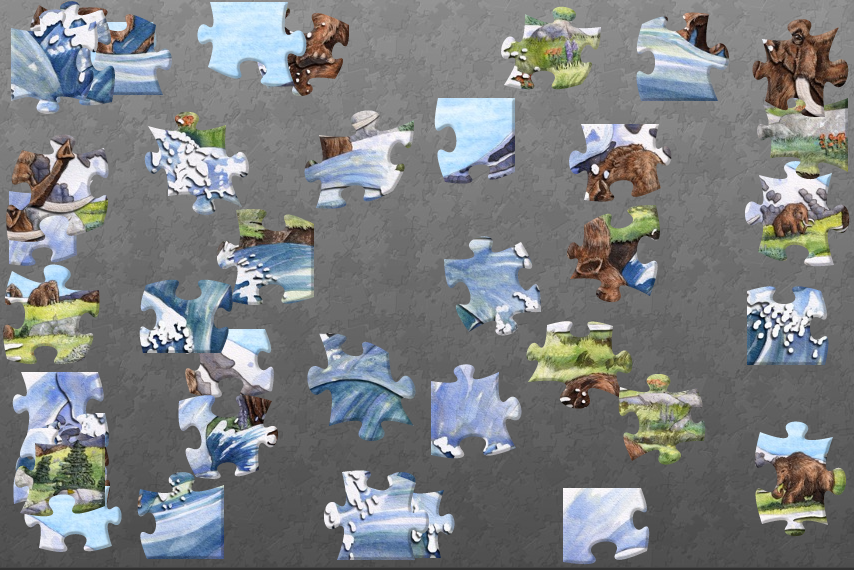 Wandering Woolly Jigsaw Puzzle