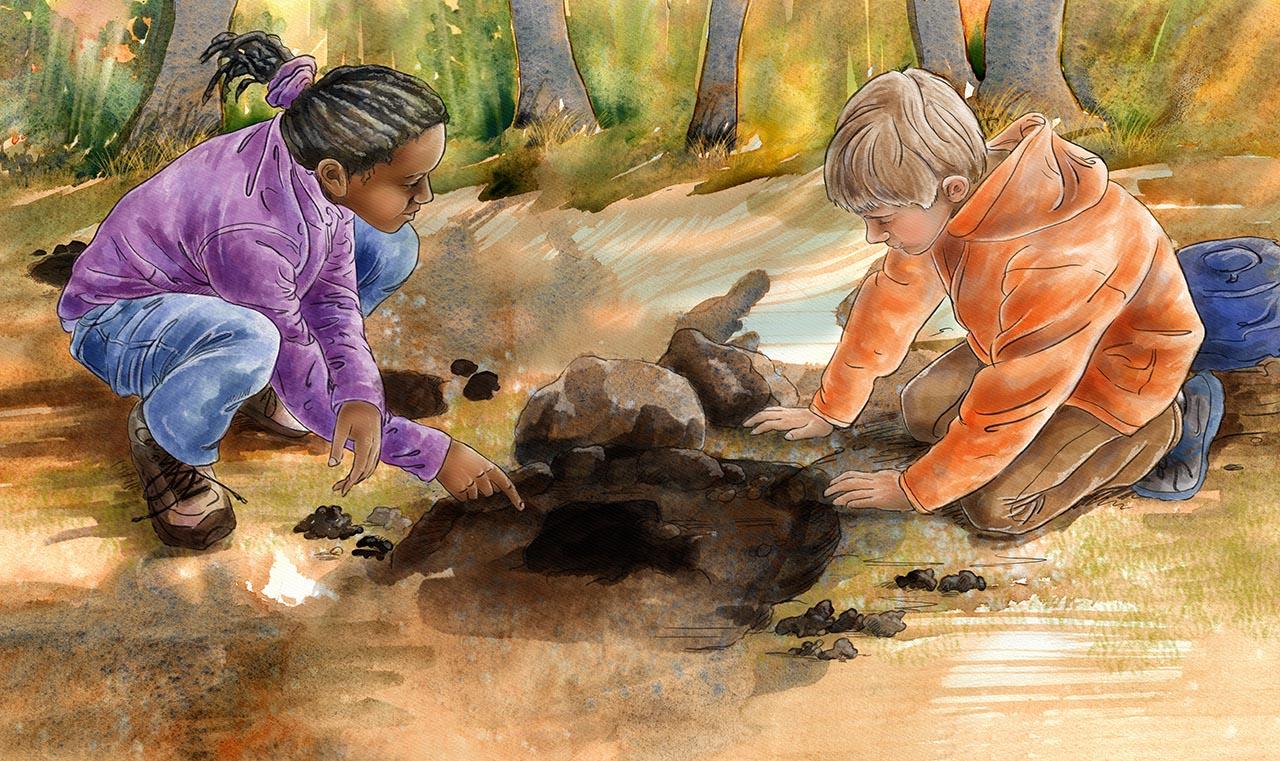 children's book illustration by Andrea Gabriel