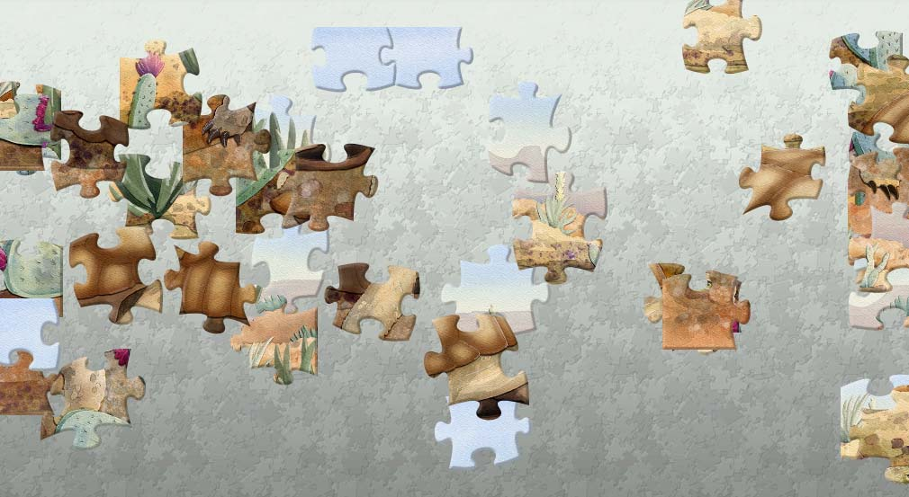 Secret Animal Jigsaw Puzzle